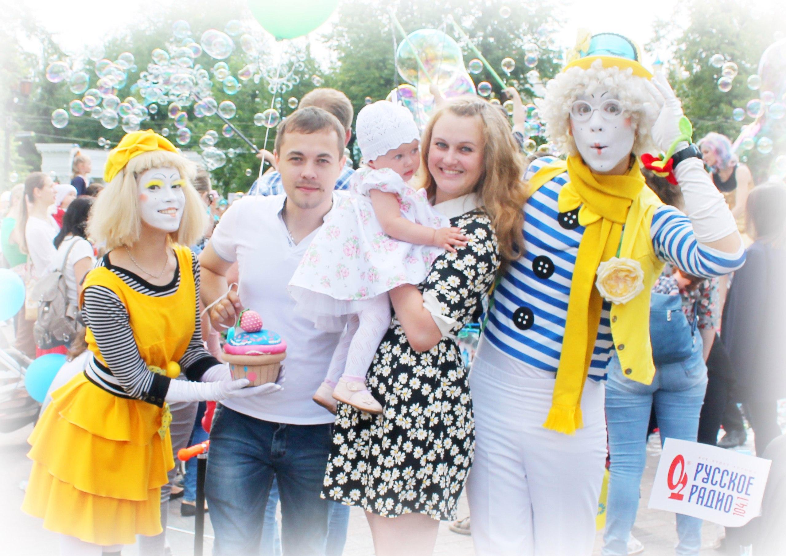 Детский Фестиваль Мыльных Пузырей