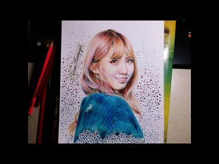 TWICE - MoMo drawing (by Elena Martynyuk)