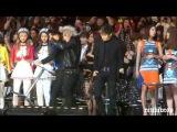 HD131122 BIGBANG Taeyang Daesung dancing &amp Seungri helping EXO @MAMA in Hong Kong Ending
