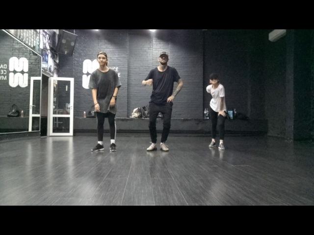 Choreography by Maxim Kovtun (J.T. FuturesexLovesound) sel