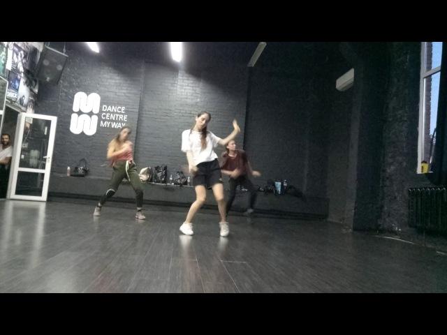 Choreography by Maxim Kovtun (J.T. FuturesexLovesound) trio1