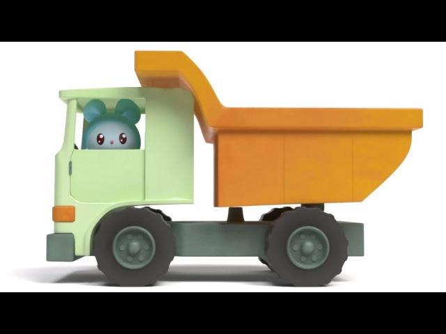 Малышарики - Подъемный кран (Серия 86) Развивающие мультики про машинки
