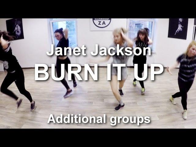 DOZA DS : 'burn it up' by janet jackson (a.gr.) | Dzintra Dubrova choreography