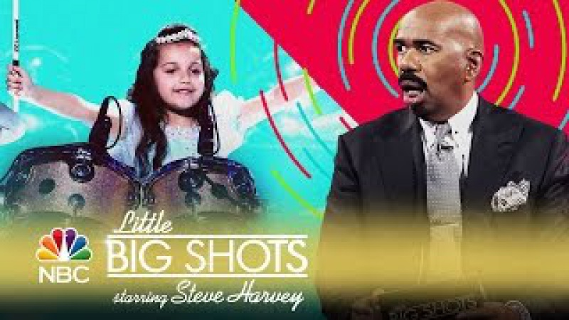 Little Big Shots - 6-Year-Old Drummer with Crazy Skills (Episode Highlight)