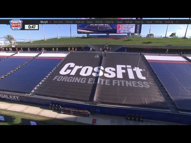 CROSSFIT GAMES 2016 Mens Murph EVENTO 5