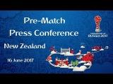 RUS v. NZL - New Zealand Pre-Match Press Conference