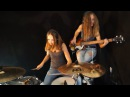 Billie Jean (Michael Jackson); Drum/Bass Cover by Milena and Sina 2016@