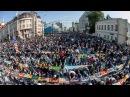 مشهد عظيم لصلاة العيد بروسيا - Muslims in Moscow Join Eid Al-Fitr Prayer