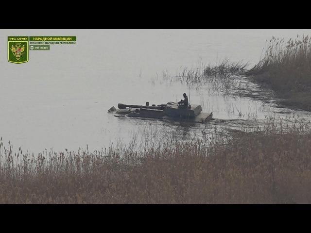 Тактические занятия по преодолению водных преград и ведению боевых действий с ходу
