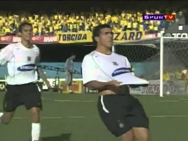 Golaço anulado de Tevez contra Palmeiras em 2006