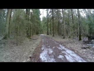 Лобненский лесопарк полет на Дроне