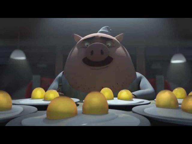 Курица или Яйцо . Короткометражный Мультфильм