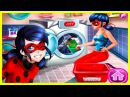 Miraculous Ladybug Washing Costumes. Kids games for girls.