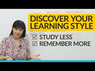 Discover your unique LEARNING STYLE: Visual, Auditory, Kinesthetic