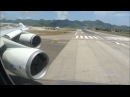 Mega Power KLM 747 Take off St Maarten