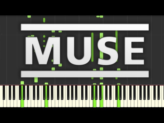 Plug In Baby Muse Synthesia Piano Cover