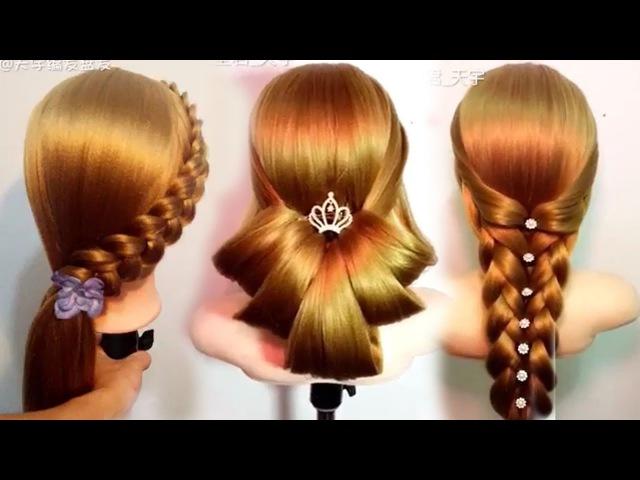 10 Amazing Hairstyles Tutorials Life Hacks for Girls🌸🌺❤