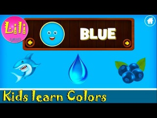 Kids learn Colors with cute activities Educational game for baby or toddler + English Words. Part 1
