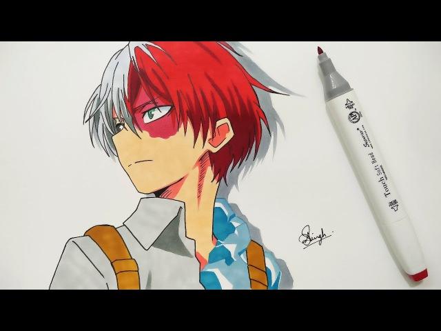 Drawing Shoto Todoroki - BOKU NO HERO ACADEMIA