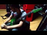 Vildhjarta - Dagger (6 string guitar cover)