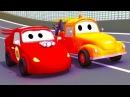 Эвакуатор Том и его друг в Автомобильный Город Мультфильм для детей