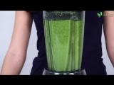 Зелёный фреш. Как приготовить полезный фреш дома.