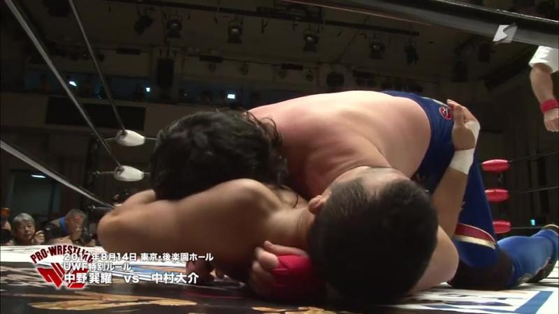 Daisuke Nakamura vs. Tatsuo Nakano (Masahito Kakihara Produce 2017)
