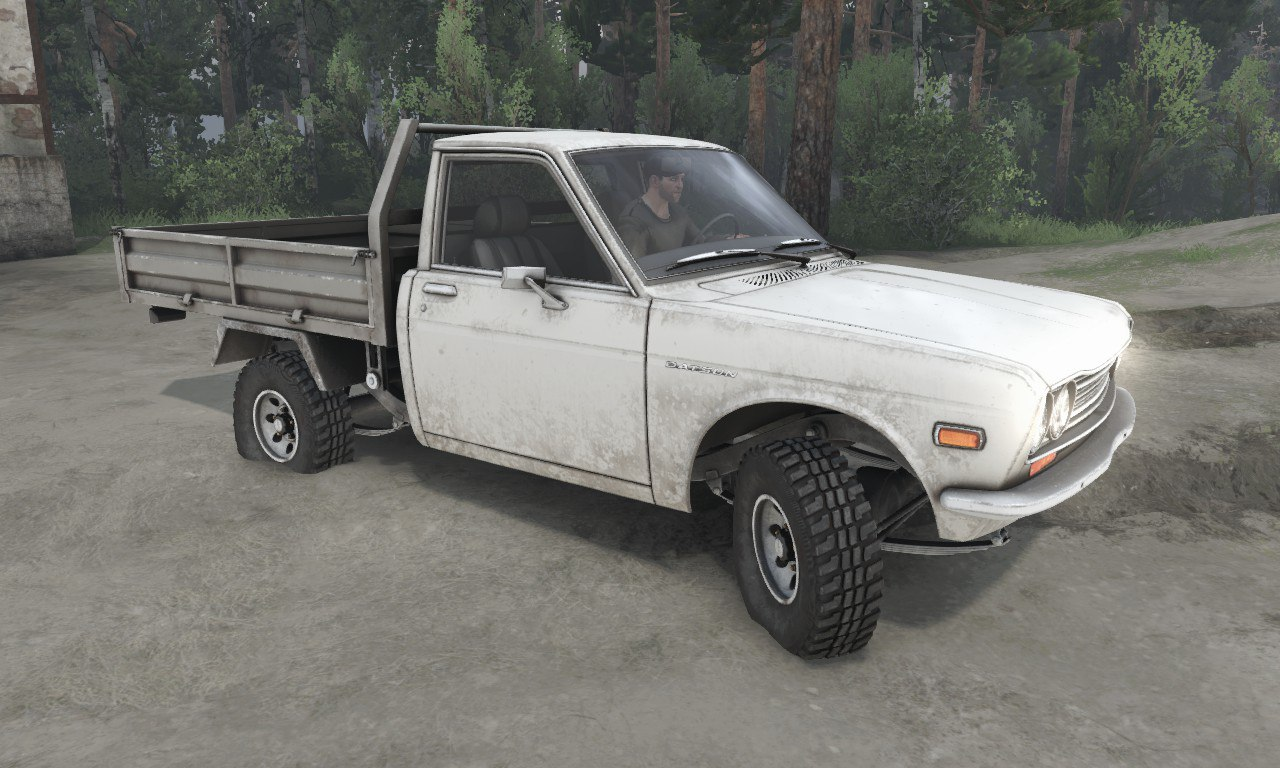Datsun 510 Pickup для 03.03.16 для Spintires - Скриншот 1