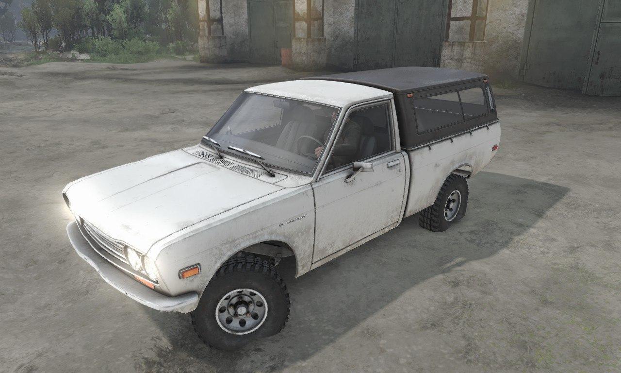 Datsun 510 Pickup для 03.03.16 для Spintires - Скриншот 3