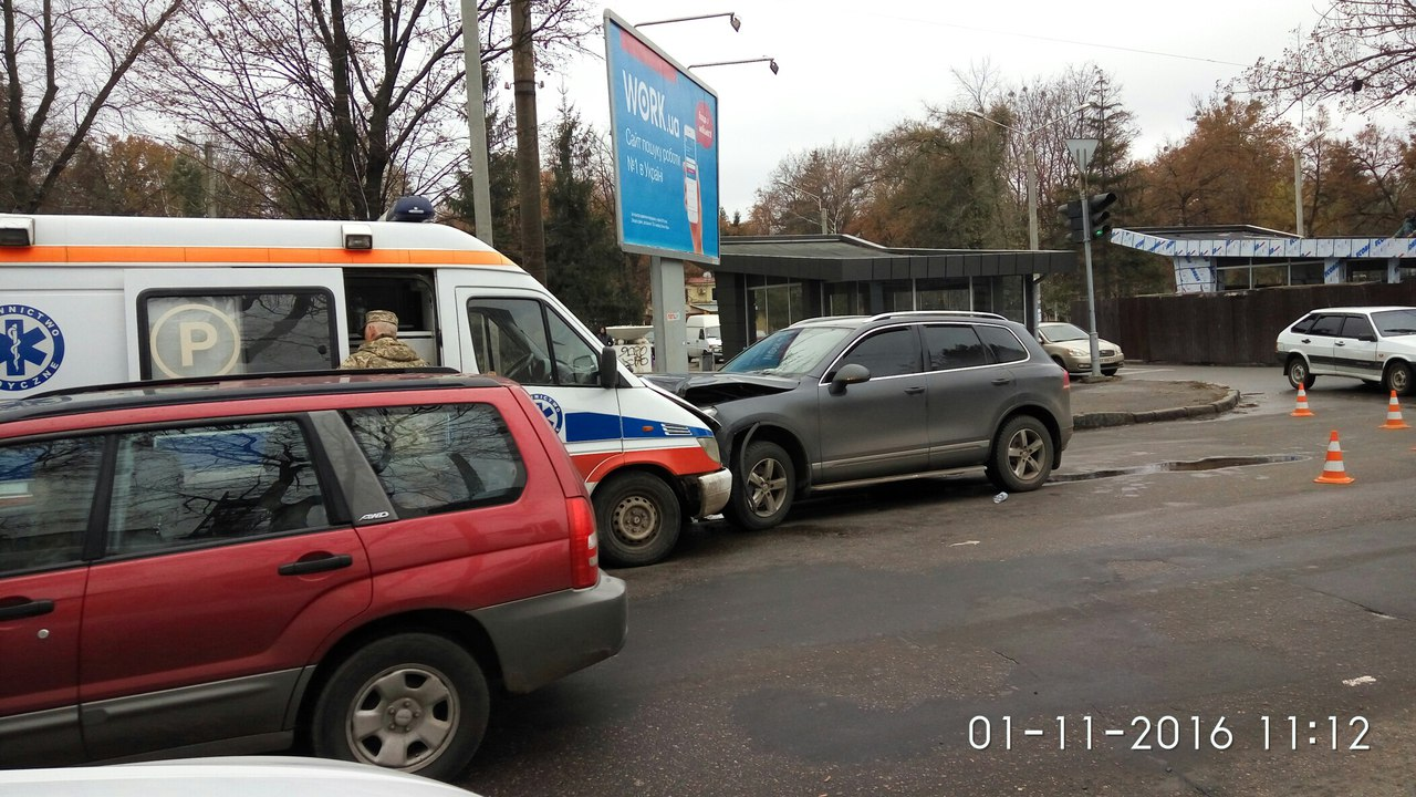 Соцсети: Произошла авария на ХТЗ