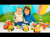 МАШИНКИ ДЛЯ МАЛЫШЕЙ - Развивающее видео с Машинками для самых маленьких Детей