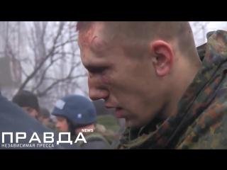 Гиви допрашивает пленных Украинцев без цензуры (2)