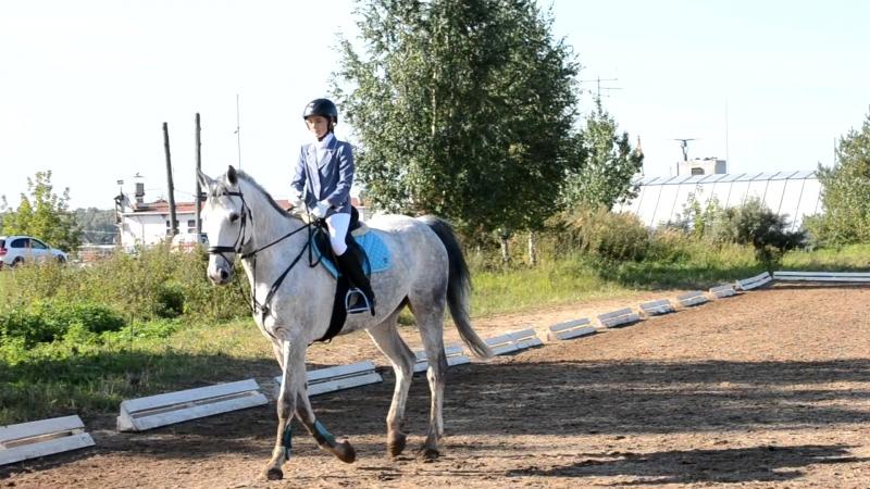 Шабуновская Анастасия -Орион. 3 место(зачёт-спортсмены)