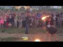 На Красном озере загорелось 3 человека. Кемерово