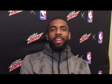 Kyrie is skeptical of the existence of dinosaurs