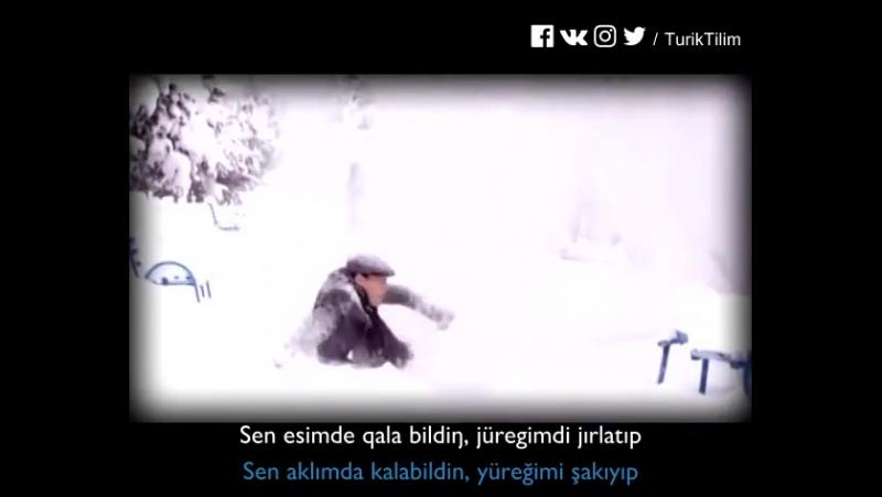 Nurjan Tolendiyev - Bizdi Küter Bir Baqıt! - Bizi Bekler Bir Baht(Mutluluk)! Altyazılı