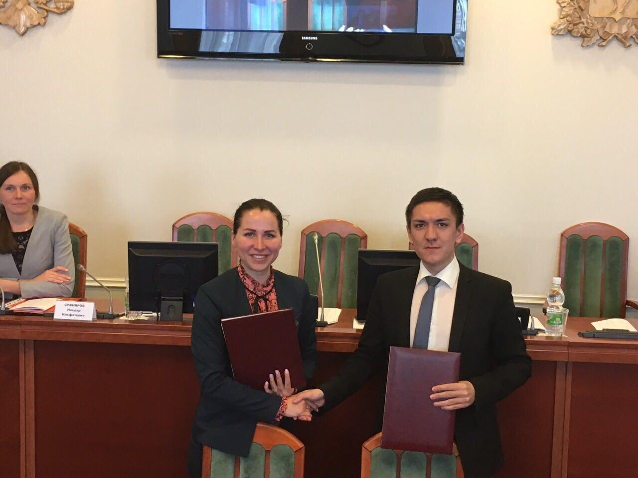 Молодежный парламент подписал соглашение с Молодежным советом Республики Татарстан
