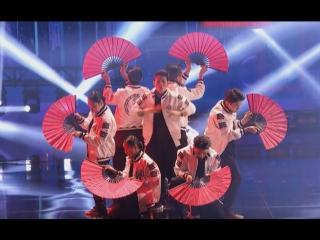 Корейская танцевальная группа выступила на американском шоу таланте~