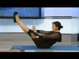 Плоский живот. Подборка самых эффективных упражнений для пресса и талии.