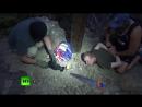 Видео задержания диверсанта СБУ в Крыму