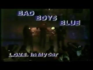 "Bad boys blue - ""l.o.v.e  in my car"""