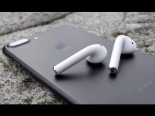 Apple AirPods Siri по двойному касанию 2017