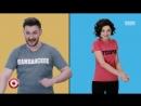 Comedy - Марина Кравец - Я толстая (Надписи на футболках)