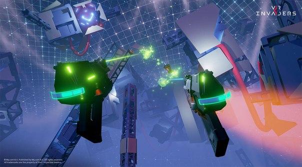 Mail.Ru назвала дату выхода VR Invaders