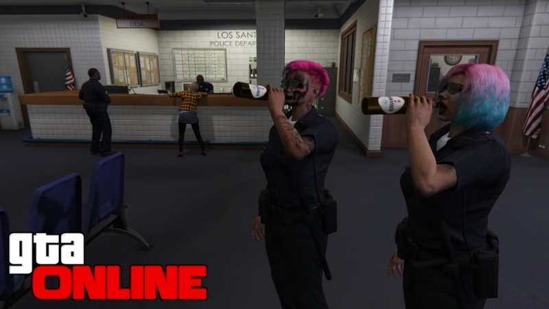 Гонки и пьянки в полицейском участке - СТРИМ 146