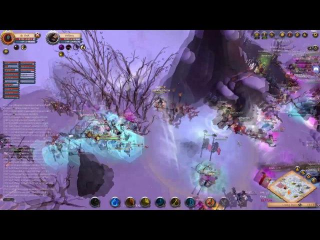 Albion Online Castle Fight: The Solar [ENVY] vs [Zerg] 24.04.2017