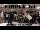 EDC 2k17  FINAL 1v1 PRO  SAMU vs. SIMON