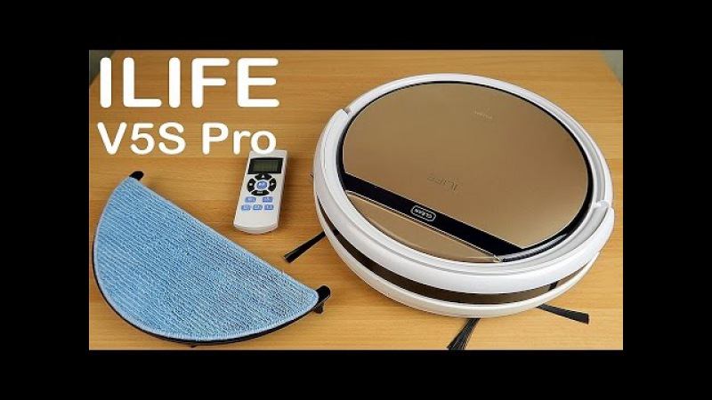 ILIFE V5S Pro Робот пылесос который моет пол