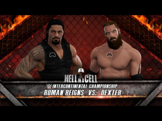 WFW Hell in a Cell - Dexter The Butcher (c) vs Roman Reigns [IC Championship]