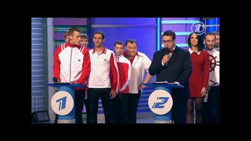 КВН 2014 Высшая лига первая 1/8 - Биатлон